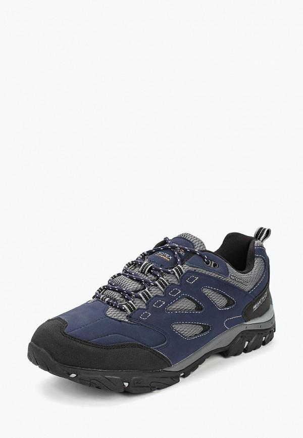 Купить Ботинки трекинговые Regatta, Holcombe IEP Low, re036amcbxf2, синий, Осень-зима 2018/2019