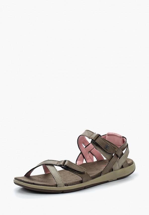 женские сандалии regatta, коричневые