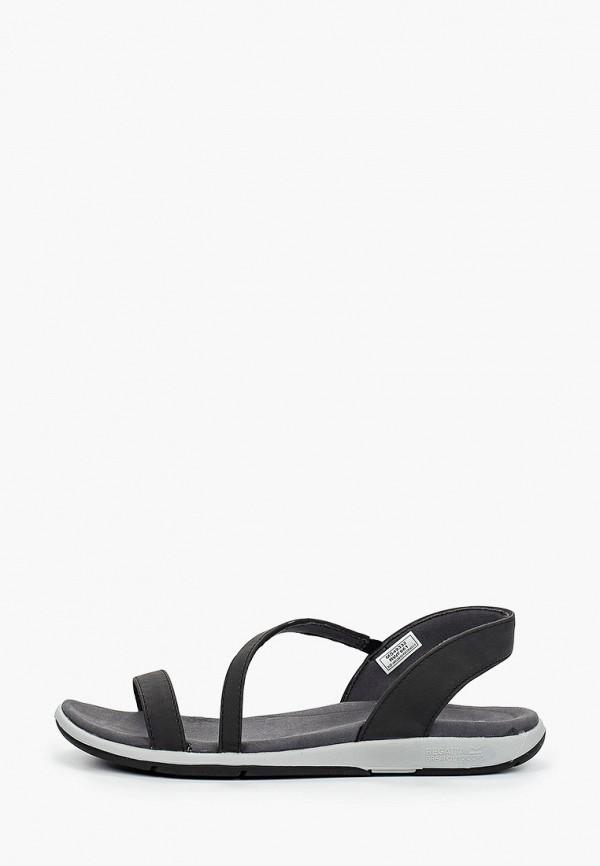 женские сандалии regatta, черные