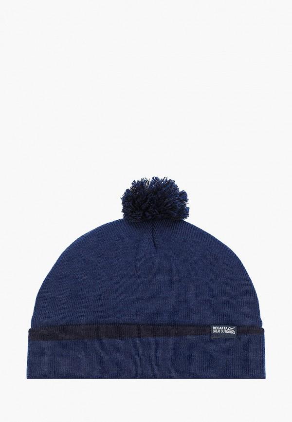 женская шапка regatta, синяя