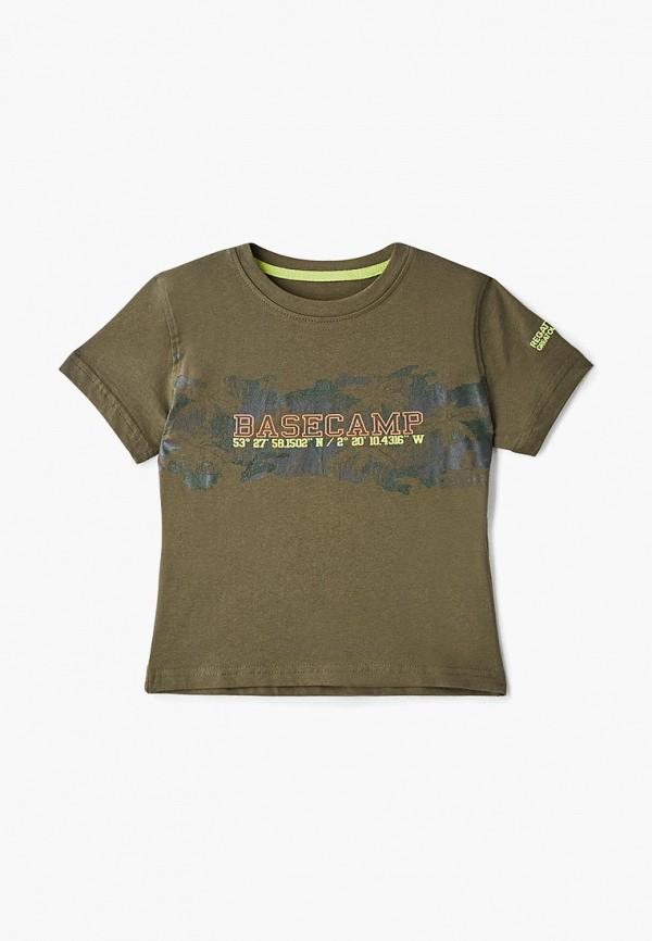 футболка regatta для мальчика, хаки