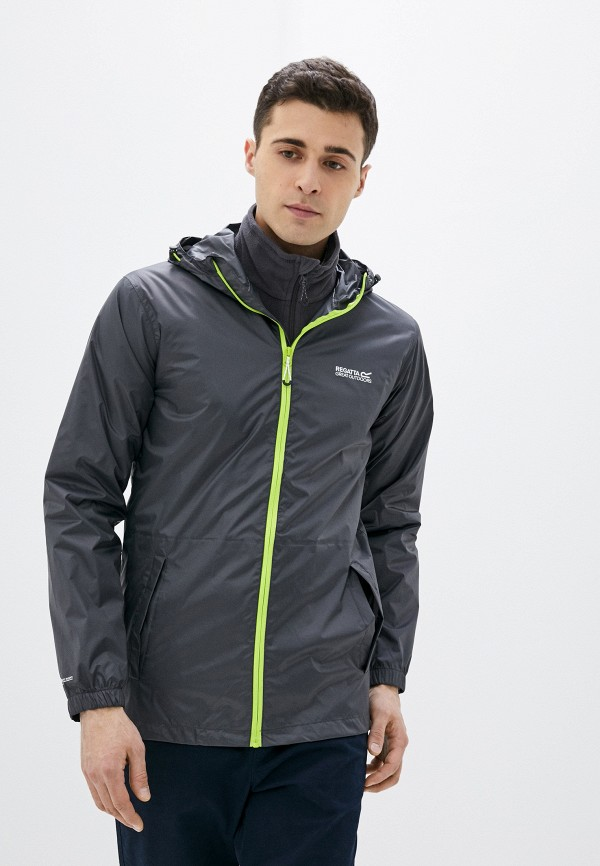 мужская куртка regatta, серая