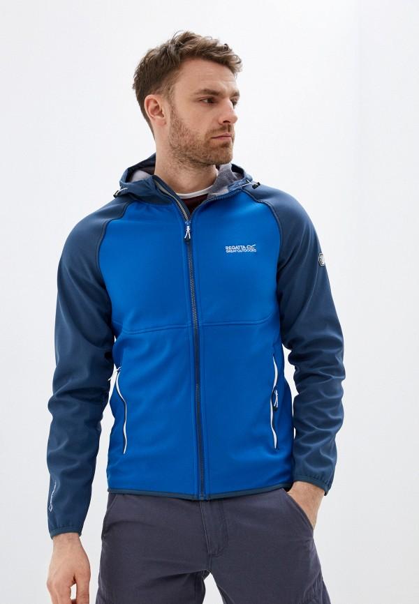 мужская куртка regatta, серебряная
