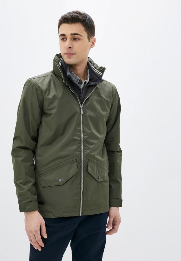 мужская куртка regatta, хаки