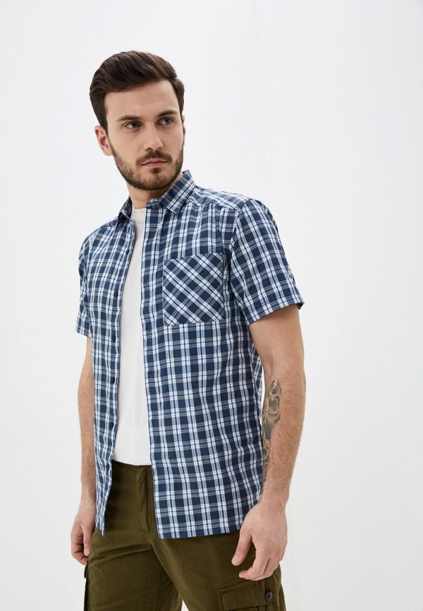 мужская рубашка regatta, синяя
