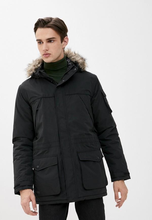 мужская куртка regatta, черная