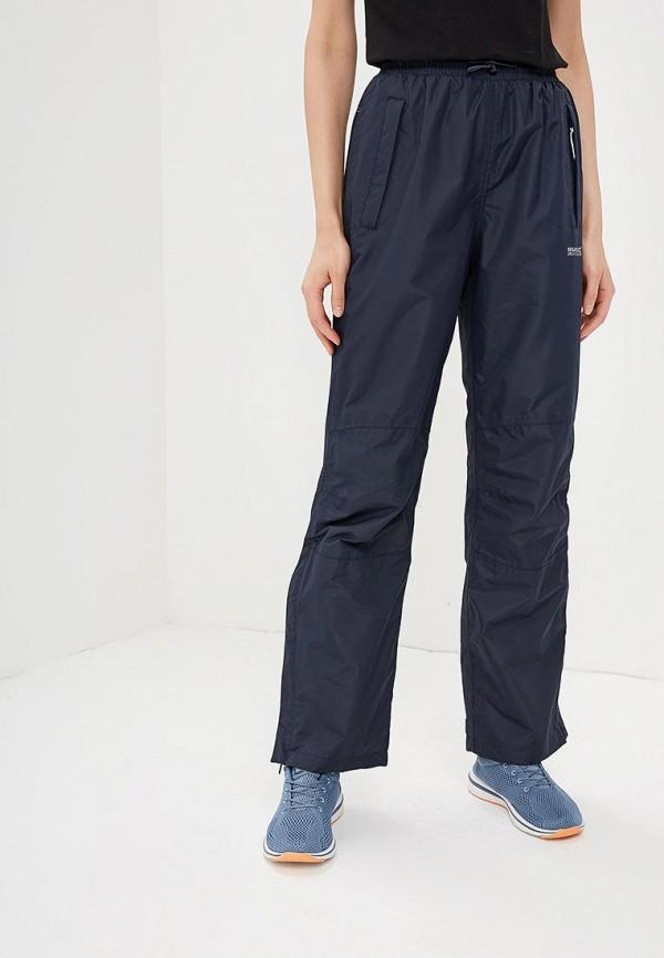 женские спортивные брюки regatta, синие