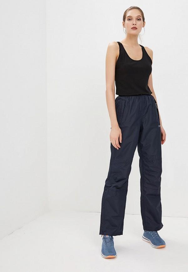 Фото 2 - женские брюки Regatta синего цвета