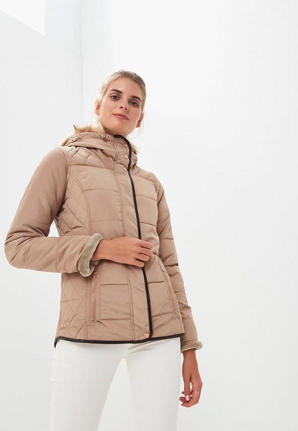 женская куртка regatta, бежевая
