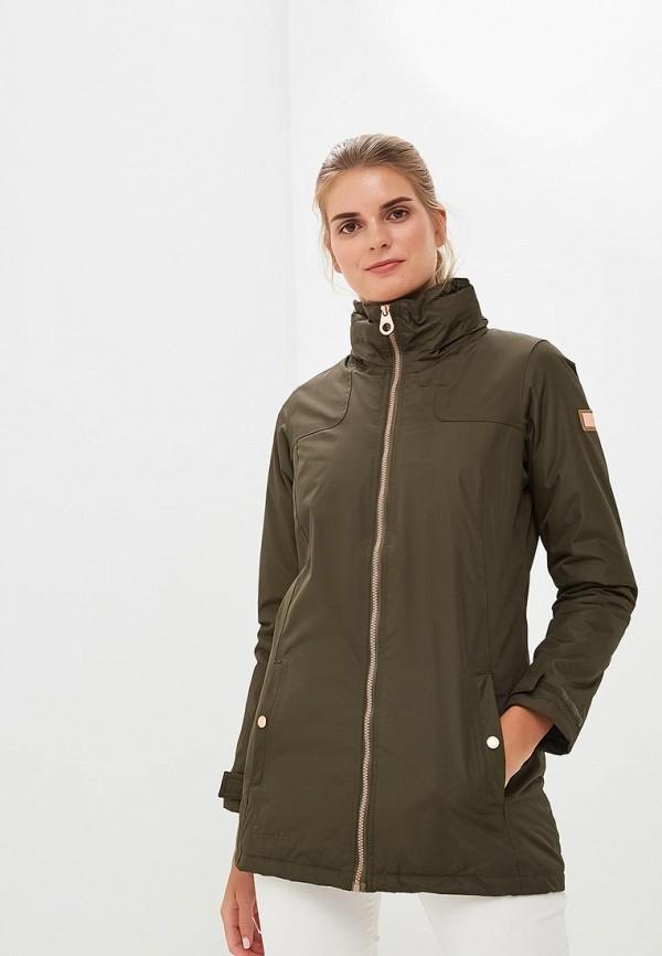 Купить Куртка утепленная Regatta, Mylee, RE036EWCBWV8, хаки, Осень-зима 2018/2019