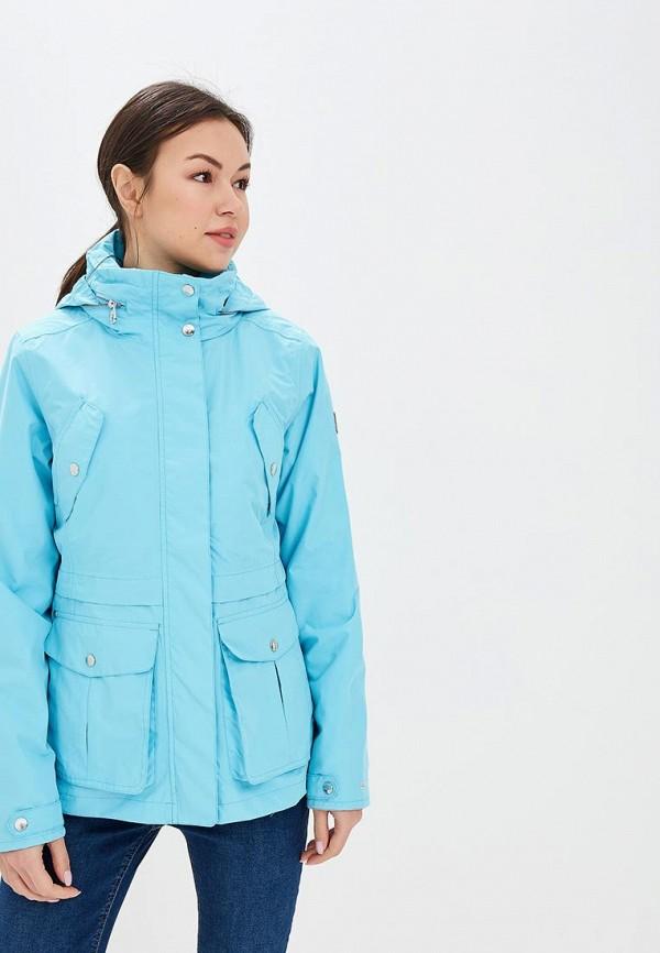 женская куртка regatta, голубая