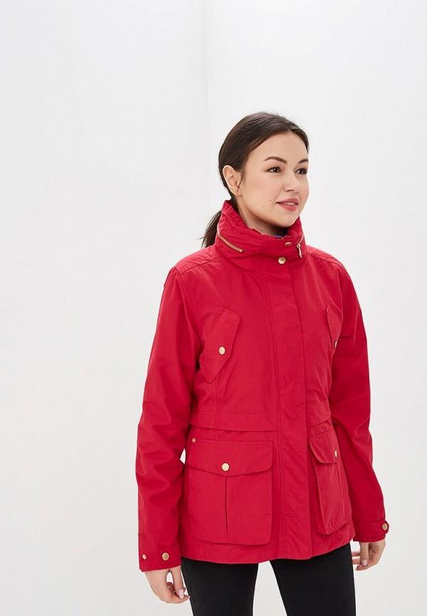 женская куртка regatta, красная