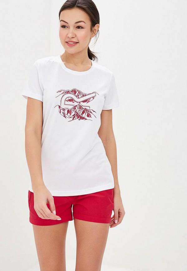 женская спортивные футболка regatta, белая