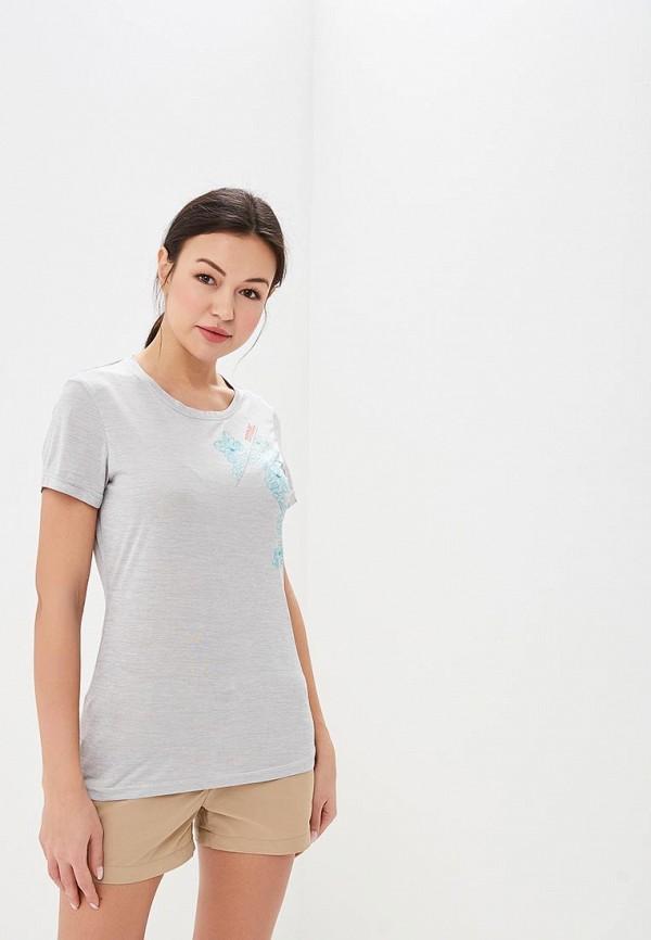 женская спортивные футболка regatta, серая