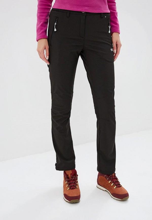женские брюки regatta, черные