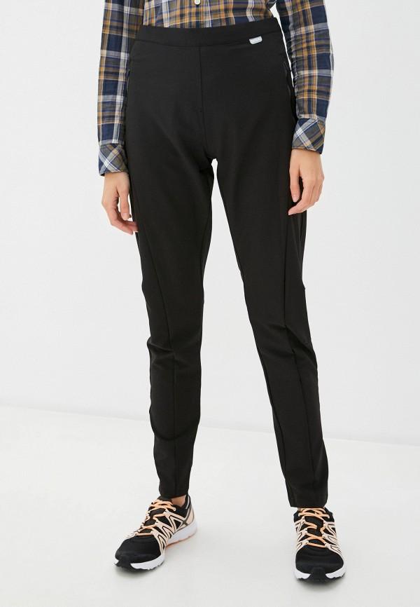 женские спортивные брюки regatta, черные