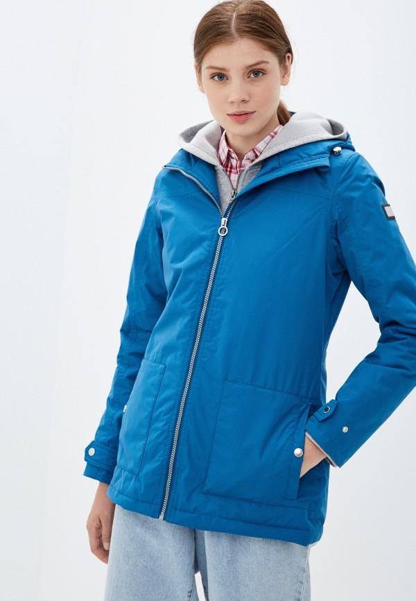 женская куртка regatta, синяя