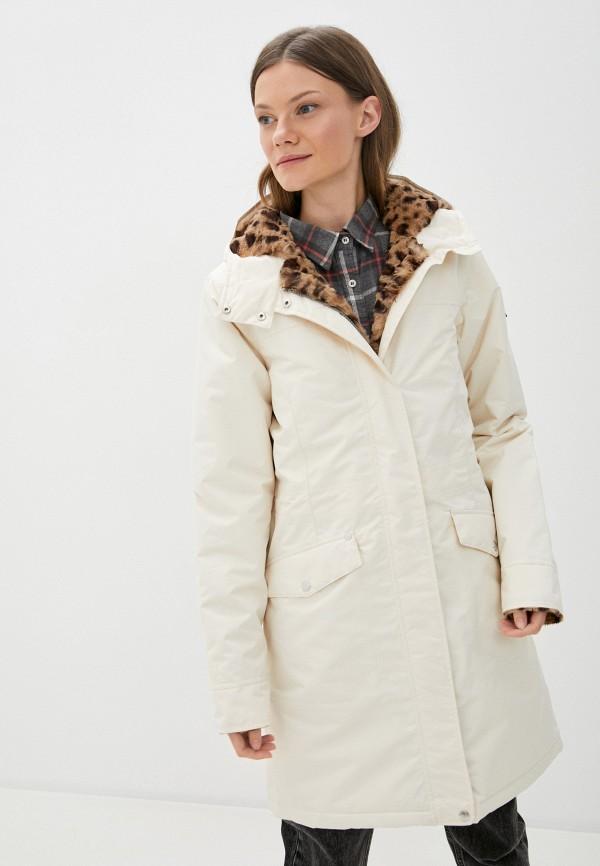 женская куртка regatta, белая