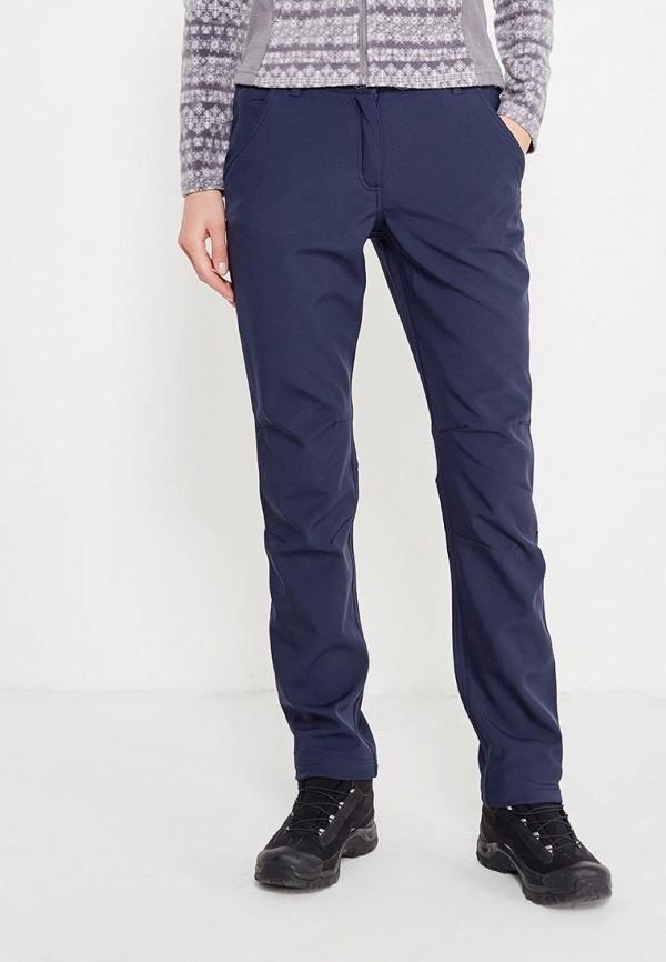 женские брюки regatta, синие