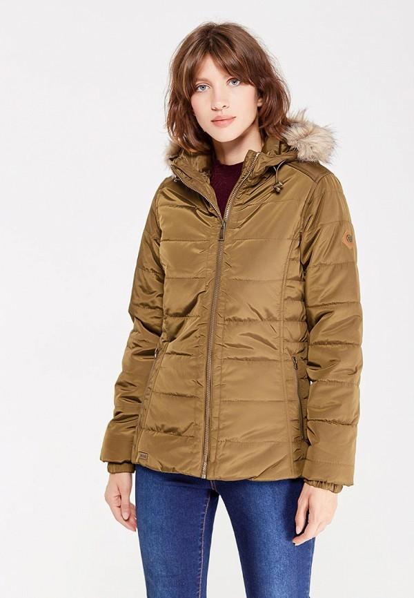 Фото 5 - Куртку утепленная Regatta цвета хаки