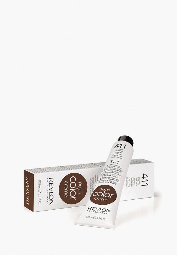 Купить Маска для волос Revlon Professional, NUTRI COLOR CREME для тонирования 411 коричневый 100 мл, re044lwcnkm3, Осень-зима 2018/2019