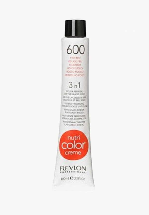 Купить Маска для волос Revlon Professional, NUTRI COLOR CREME для тонирования 600 огненно-красный 100 мл, re044lwcnkm7, Весна-лето 2019