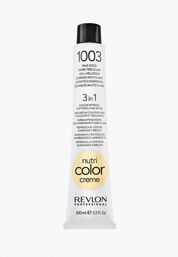 Купить Маска для волос Revlon Professional, NUTRI COLOR CREME для тонирования 1003 очень светлый золотой 100 мл, re044lwcnkn1, Осень-зима 2018/2019