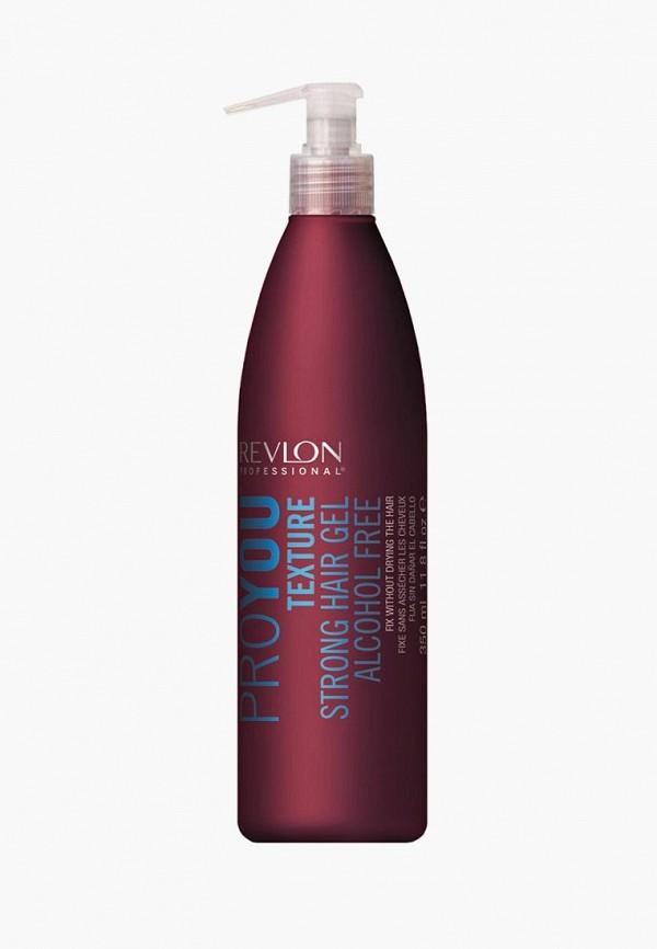 Купить Гель для укладки Revlon Professional, PRO YOU сильной фиксации Texture Strong Hair Gel 350 мл, re044lwcnkn6, прозрачный, Осень-зима 2018/2019