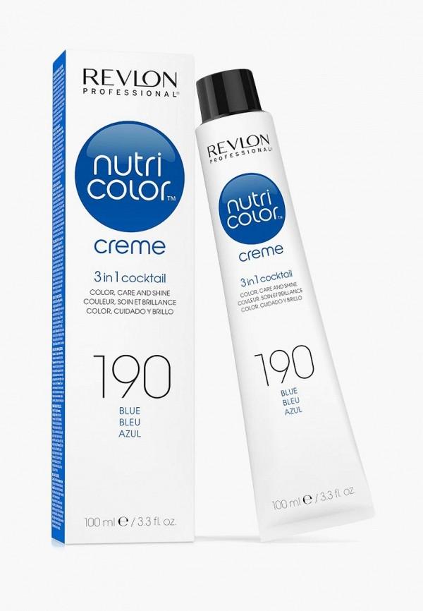 Купить Маска для волос Revlon Professional, NUTRI COLOR для тонирования волос, 190 синий, 100 мл, re044lwcnks8, Осень-зима 2018/2019