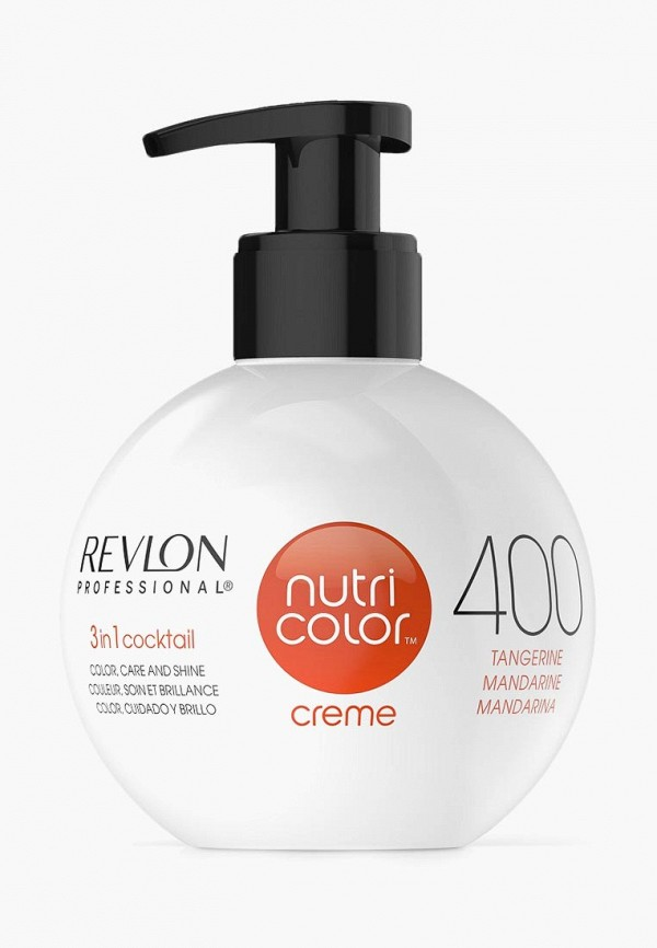 Купить Маска для волос Revlon Professional, NUTRI COLOR, для тонирования волос, оранжевый, 270 мл, RE044LWCNKT1, Осень-зима 2018/2019