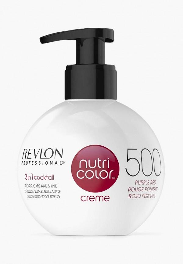 Купить Маска для волос Revlon Professional, NUTRI COLOR, для тонирования волос, пурпурно-красный, 270 мл, RE044LWCNKT2, Осень-зима 2018/2019