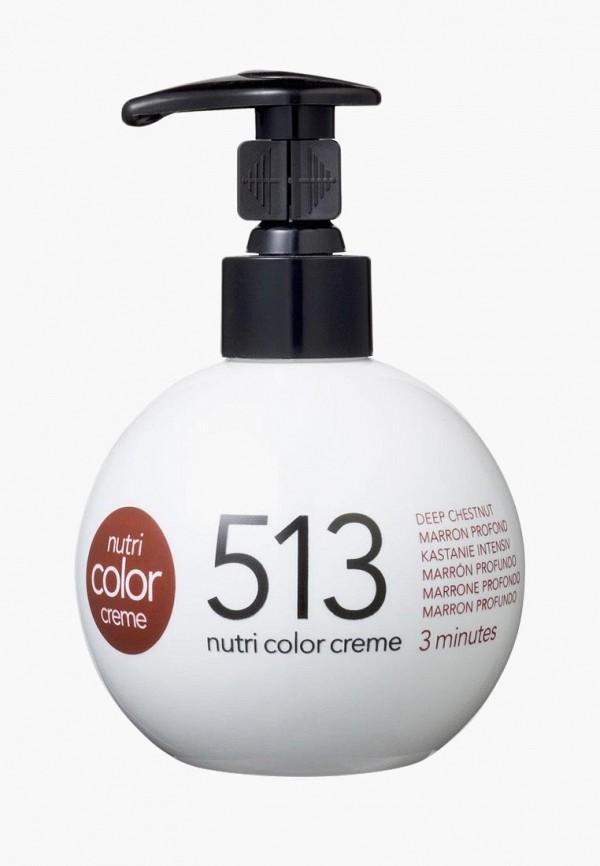 Купить Маска для волос Revlon Professional, NUTRI COLOR для тонирования волос 513 холодный коричневый 270 мл, re044lwcnkt3, прозрачный, Осень-зима 2018/2019