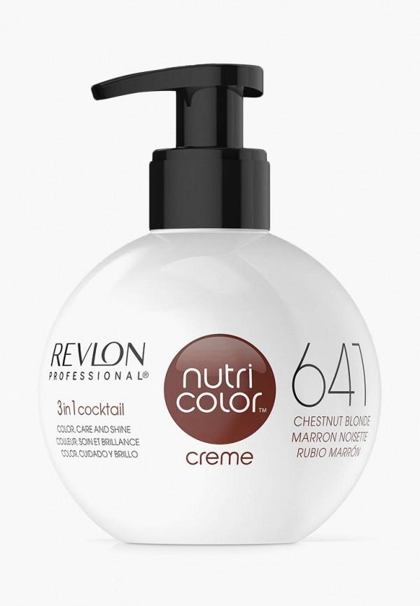 Купить Краска для волос Revlon Professional, NUTRI COLOR для тонирования волос 641 каштановый блонд 270 мл, RE044LWCNKT5, коричневый, Осень-зима 2018/2019