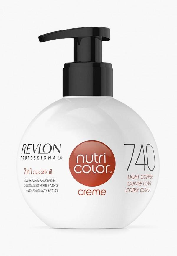 Купить Краска для волос Revlon Professional, NUTRI COLOR для тонирования волос 740 светло-медный 270 мл, RE044LWCNKT6, золотой, Осень-зима 2018/2019