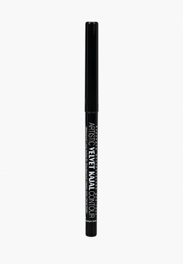 карандаш для глаз relouis, черный