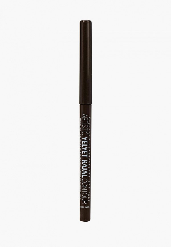 карандаш для глаз relouis, коричневый