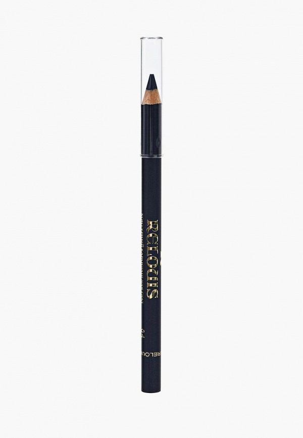 карандаш для глаз relouis, синий