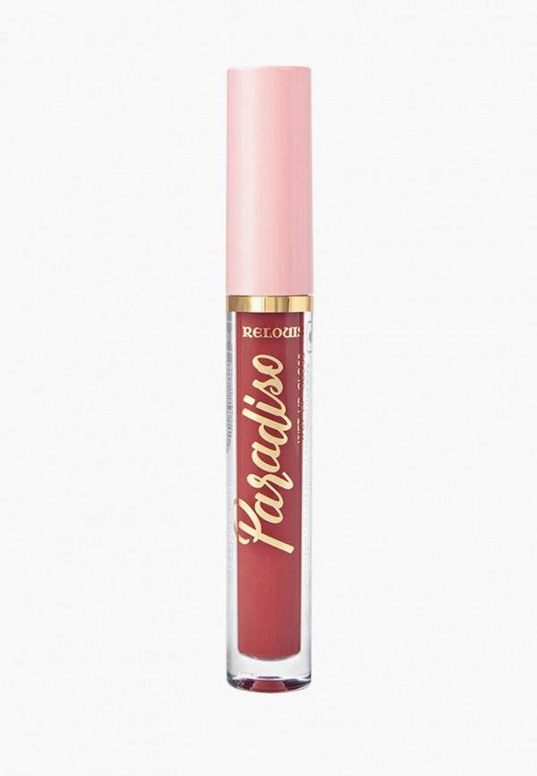 женский блеск для губ relouis, розовый