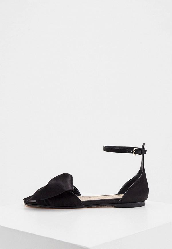 женские сандалии red(v), черные