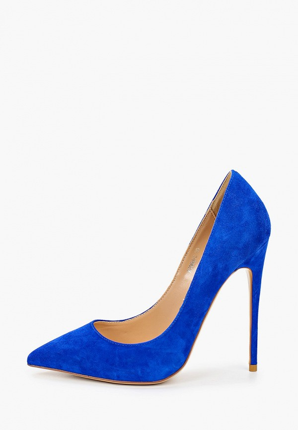 женские туфли rene santi, синие