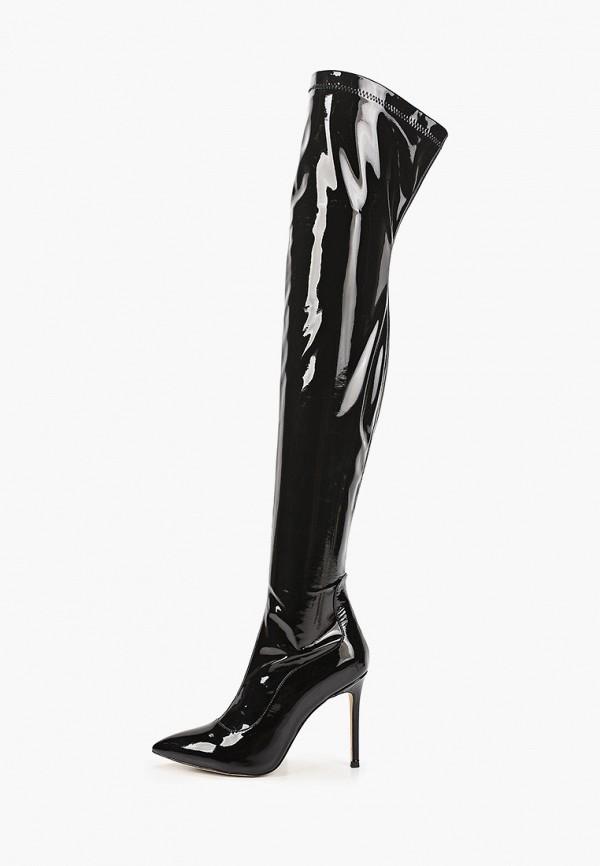 женские ботфорты rene santi, черные