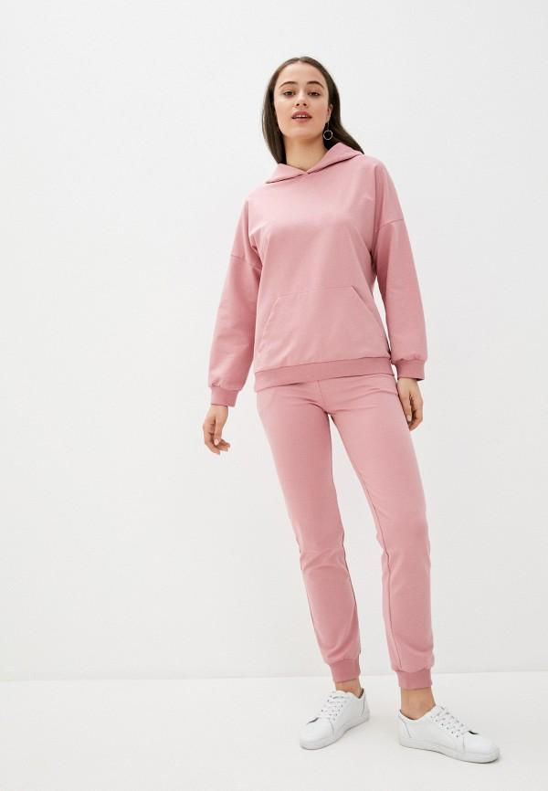 женский спортивный костюм rene santi, розовый