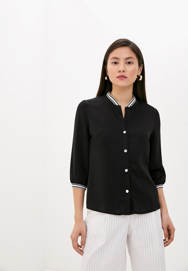 женская блузка rene santi, черная