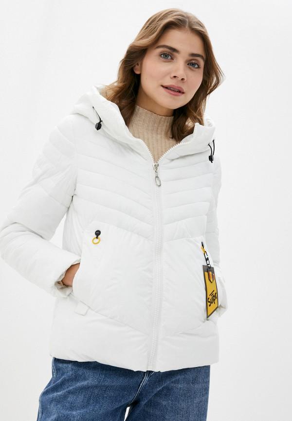 женская куртка rene santi, белая