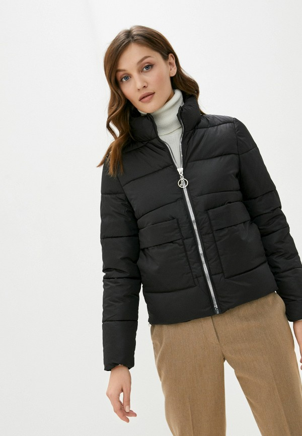 женская куртка rene santi, черная
