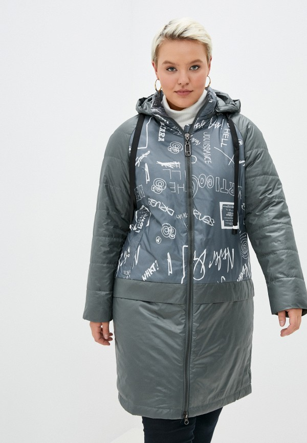 женская куртка rene santi, зеленая