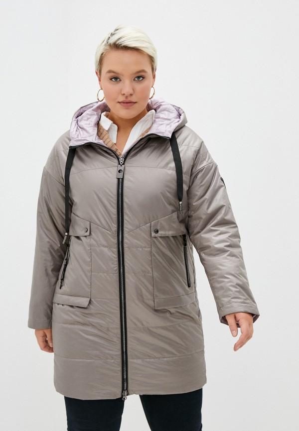 женская куртка rene santi, серая