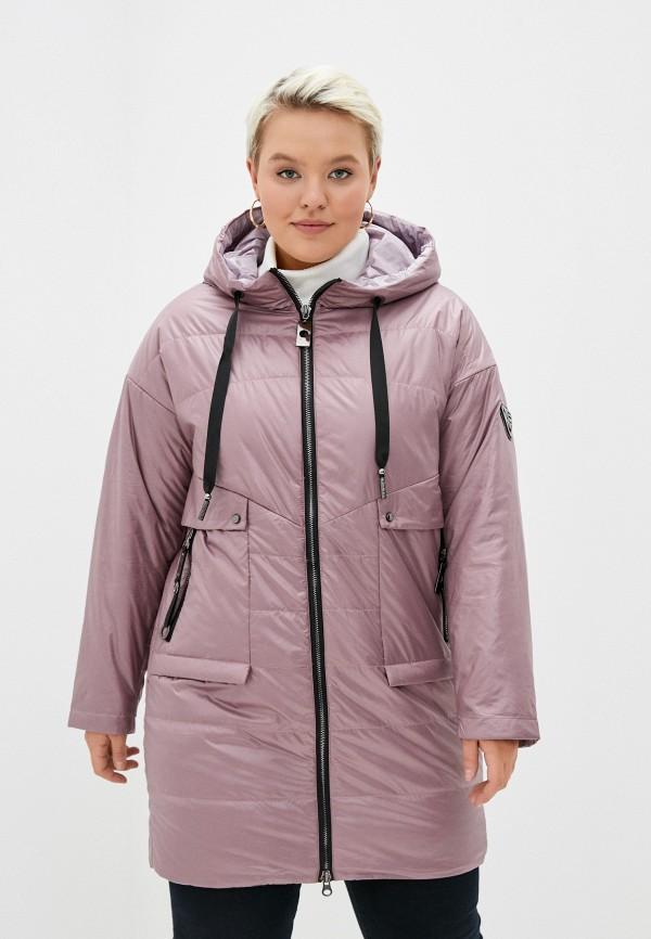 женская куртка rene santi, розовая