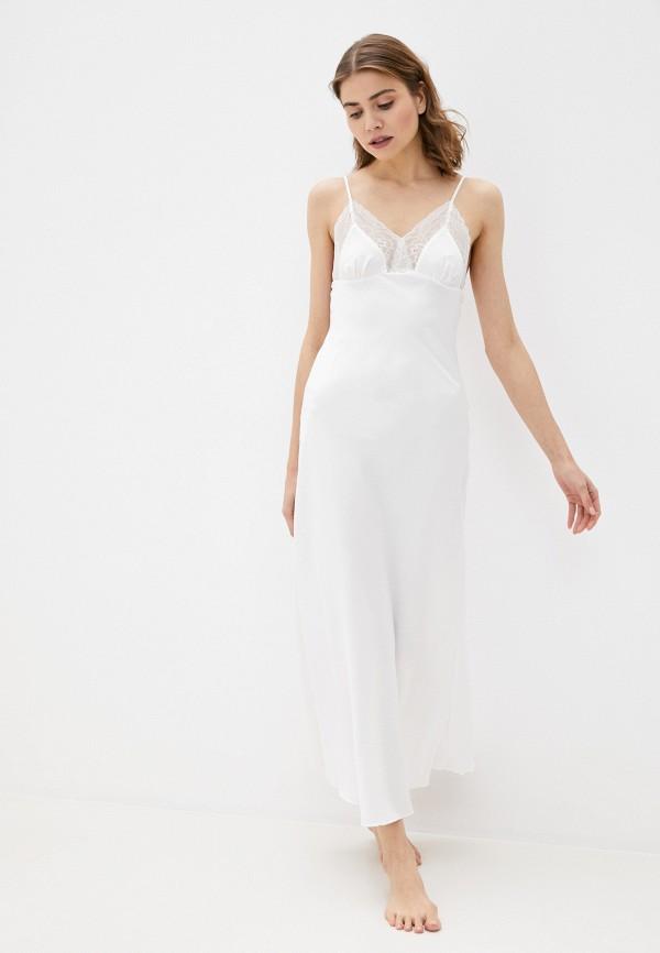 женские сорочка ночная rene santi, белые
