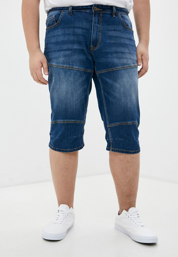 мужские шорты replika jeans, синие